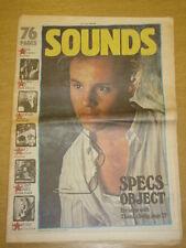 SOUNDS 1983 JUL 30 KILLING JOKE BEAT MEATLOAF ACDC