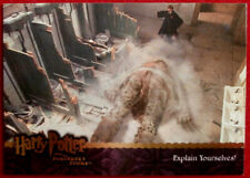 HARRY POTTER - SORCERER'S STONE - Card #056 - EXPLAIN YOURSELVES! - ArtBox 2005