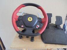 Vintage XBox OneThurstmaster Ferrari Spider Racing Wheel