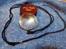 15K Solid Gold Gentleman'S Monocle Curry & Paxton London! Wonderful Condition!