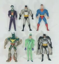 Animated New Batman Adventures action figure lot: Riddler Joker Superman Beyond