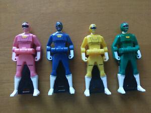 Gekisou Sentai Carranger 4-Key Ranger Key Set (US Seller)