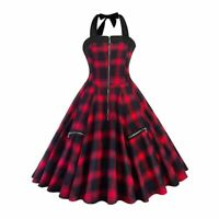 Rosetic Pretty In Punk Black & Red Tartan Pleated Dress - Gothic,Goth