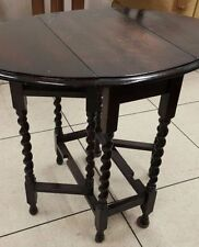 Oval Side & End Tables with Drop Leaf