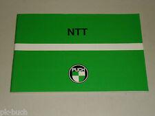 Betriebsanleitung Handbuch Handleiding Puch Motorroller NTT