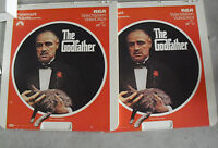 Vintage 1981 CED Videodisc Movie - The Godfather Two Disc Set
