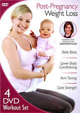 Post-Pregnancy Weight Loss (DVD, 2012, 4-Disc Set) New
