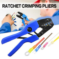 Ratchet Crimper Electrical Cable Wire Ferrule Pliers Cutter Tool