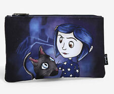Loungefly Coraline Black Cat Other Mother Stars Cosmetic Makeup Bag Case