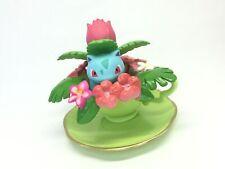 Pokemon Figure Ivysaur with Tea cup flower (Bisaknosp Herbizarre) E#13672 1st