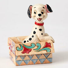 Jim Shore Disney Traditions 101 Dalmatians Mini Lucky in Box Figurine #4054287