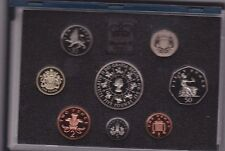 BOXED 1993 STANDARD PROOF SET OF 8 COINS WITH CERTIFICATE