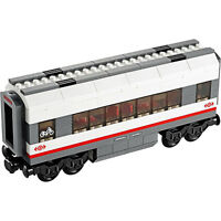 Lego Genuine City Passenger Train Railway Middle Carriage from 60051 - NEW