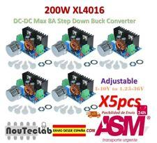 5pcs 200W XL4016 DC-DC 8A Step Down 4-40V to 1.25-36V Adjustable Power Supply
