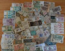 LOT OF WORLD BANKNOTES WE COMBINE SHIPPING