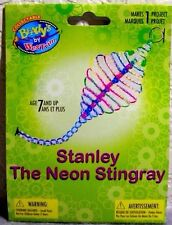 """Beady's Key Ring or Dangle Jewelry Craft Bead Kit """"Stanley The Stingray""""(age 7+)"""