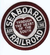 "RAILROAD PATCH  - Seaboard Air Line Railway 4"""