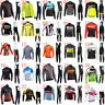 New Cycling Jersey Set Men long sleeve Team Bike Clothing Bicycle Sports Uniform