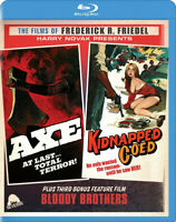 Axe (1974) / Kidnapped Coed (1975) Blu-ray + Exclusive CD, Severin Rare