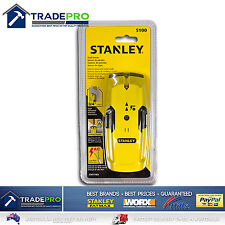 Stanley Stud Detector Sensor Finder S100 NEW MODEL AC Detection Metal &Wood Scan