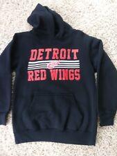 Detroit Red Wings Hoodie Sweatshirt boys medium 10/12