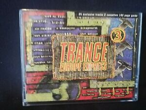 Trance Europe express 3 music compilation cassette tape album 1993