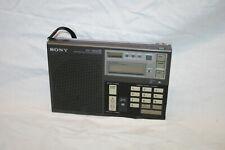 portable radio, SONY ICF-7600D Weltempfänger - Funktioniert gut.
