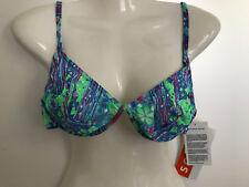 TanThru Bikini Durchbräunend Urwald Jungle Dschungel 40 D US 12 Solar Neu