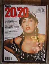 Time Out 20/20 magazine - Bette Davis Michelle Pfeiffer (June 1989 - Issue 3)