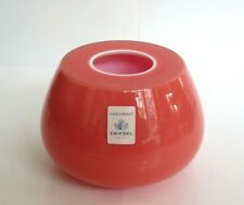 Vintage German Art Glass Vase, By Michael Boehm for Zwiesel, Lovely Quality.