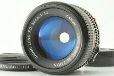 APP Almost MINT Canon New FD NFD 50mm F/1.4 for new F-1 A-1 by FedEx from JAPAN