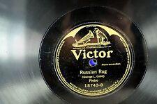 Pietro - Ragtime 78 RPM George L. Cobb - Russian Rag / Turkey In The Straw A3
