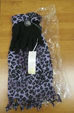 M&S Ladies Animal Print Scarf & Gloves 2-Piece Gift Set One Size BNWT  887