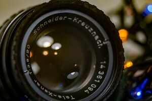 Schneider Kreuznach 90mm f/3.8 Tele-Xenar (Robot Royal) (*Rare*)(*as is*)