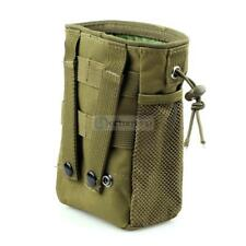 """Large Airsoft Molle US Tactical Magazine Mag DUMP Ammo Drop Utility Pouch Bag 8"""""""