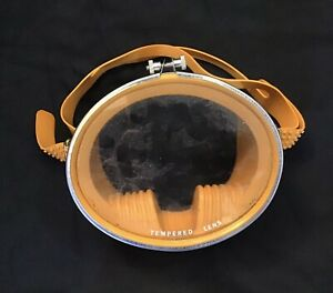 Vintage Scuba Diving Mask Espadon France Compensator 1960s