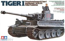 Tamiya 35216 1/35 Model Kit WWII German Tank Panzer VI Tiger I Ausf.E Early Prod