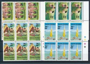 [G391070] Grenadines scout good set blocks of 6 very fine MNH stamps
