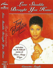 TONI BRAXTON LOVE SHOULDA BROUGHT YOU CASSETTE SINGLE RnB/Swing R Kelly Remix