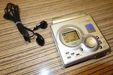 Sharp Minidisc MT 88 LP MD Recoder-Player Silber (75)  + Sony Ohrhörer + AL
