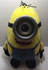 "Thinkway Toys Dispicable Me 2 Talking Light Up Minion Stuart 16"" Large Plush Toy"