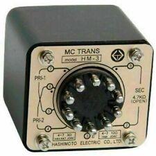 MC Cartridge Step up input Transformer HM-3 Hashimoto Reprint of Sansui