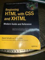Expert's Voice in Web Development: Beginning HTML with CSS and XHTML : Modern...