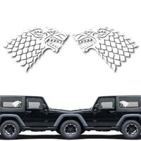 House of Stark Game of Throne Decal Sticker for Car Window, Laptop # 1033