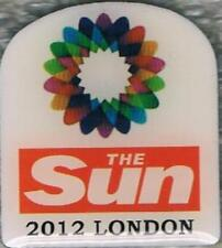 2012 London The SUN Logo Olympic Media Pin
