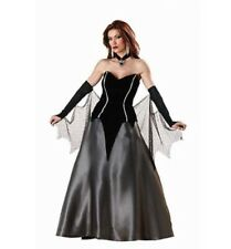 Deluxe Bativa QUEEN OF DARKNESS GOTH COSTUME Rental Quality Size Small 4-6