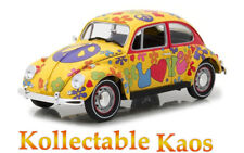 1:18 Greenlight - Hippie Peace & Love 1967 VW Beetle Right Hand Drive