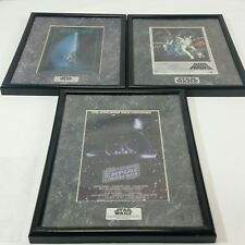 1994 Star Wars ChromArt Movie Posters Lot of 3 Episodes