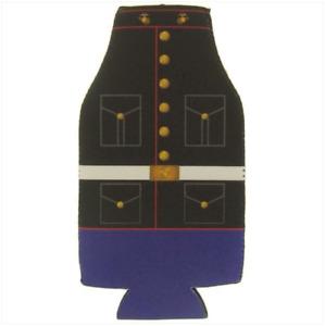Vanguard MARINE CORPS DRESS BLUE KOOZIE: BOTTLE COVER -NEW STYLE