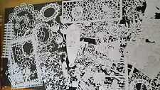 Tattered Lace Die Cut out Large Bundle, Mixed Shapes, Stephanie Weightman